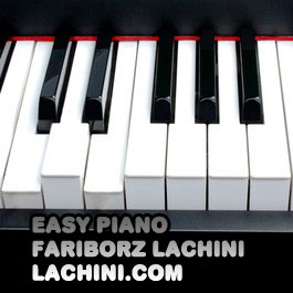 Easy Piano sheet music by Fariborz Lachini