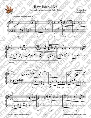 Armenian sheet music piano